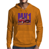 Ford Capri Retro Classic Car Purple/Red Mens Hoodie