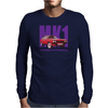 Ford Capri Retro Classic Car Purple/Red Mens Long Sleeve T-Shirt