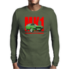 Ford Capri Retro Classic Car Red/Green Mens Long Sleeve T-Shirt
