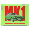 Ford Capri Retro Classic Car Red/Green Tablet