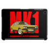 Ford Capri Retro Classic Car Red/Yellow Tablet