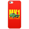 Ford Capri Retro Classic Car Yellow/Green Phone Case