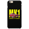 Ford Capri Retro Classic Car Yellow/Red Phone Case
