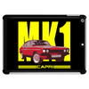 Ford Capri Retro Classic Car Yellow/Red Tablet