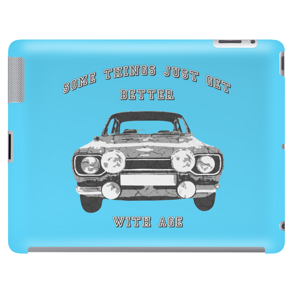 Ford Escort MK1 Retro Classic Car Tablet