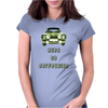 Ford Escort MK1 RS 1800 2000 Classic Car Design Womens Fitted T-Shirt