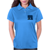 Ford Fiesta MK1 Classic Car Blue Womens Polo