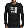 Ford Fiesta MK1 Classic Car Mens Long Sleeve T-Shirt