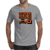 Ford Fiesta MK1 Classic Car Orange Mens T-Shirt