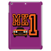 Ford Fiesta MK1 Classic Car Orange Tablet