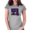 Ford Fiesta MK1 Classic Car Purple Womens Fitted T-Shirt