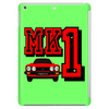 Ford Fiesta MK1 Classic Car Red Tablet
