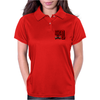 Ford Fiesta MK1 Classic Car Red Womens Polo
