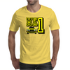 Ford Fiesta MK1 Classic Car Yellow Mens T-Shirt
