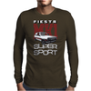Ford Fiesta Super-Sport Classic Car Mens Long Sleeve T-Shirt