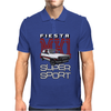 Ford Fiesta Super-Sport Classic Car Mens Polo
