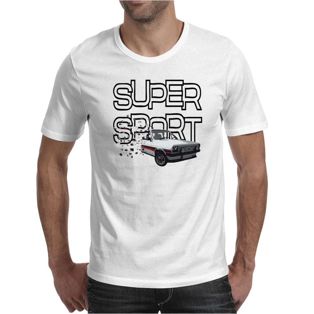 Ford Fiesta Supersport Mens T-Shirt