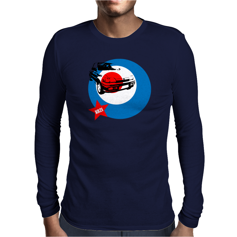 Ford Fiesta XR2i Classic Car Mens Long Sleeve T-Shirt