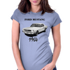 Ford Mustang 1964, the first one Womens Fitted T-Shirt