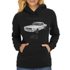 Ford Mustang 1964, the first one Womens Hoodie