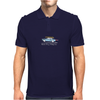Ford Mustang Gone Surfing in Santa Cruz California Mens Polo