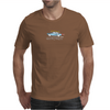 Ford Mustang Gone Surfing in Santa Cruz California Mens T-Shirt