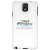 Ford Mustang Gone Surfing in Santa Cruz California Phone Case
