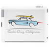 Ford Mustang Gone Surfing in Santa Cruz California Tablet