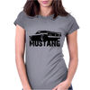 Ford Mustang Rear Womens Fitted T-Shirt