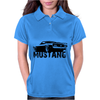 Ford Mustang Rear Womens Polo