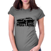 Ford Mustang Womens Fitted T-Shirt