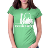 Forklift Truck Driver's Womens Fitted T-Shirt