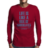 Forrest Gump - Box Of Chocolates Mens Long Sleeve T-Shirt