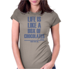 Forrest Gump - Box Of Chocolates Womens Fitted T-Shirt
