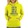 Forrest Gump - Box Of Chocolates Womens Hoodie