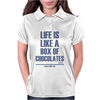 Forrest Gump - Box Of Chocolates Womens Polo