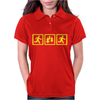 Forrest Gump Funny Womens Polo