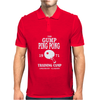 Forrest Gump - Ping Pong Camp - Cult Film Mens Polo