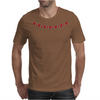 Four cluster Ruby Necklace Mens T-Shirt