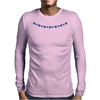 Four Cluster Sapphire Necklace Mens Long Sleeve T-Shirt