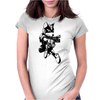Fox McCloud Womens Fitted T-Shirt