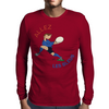 France Rugby Back World Cup Mens Long Sleeve T-Shirt