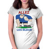 France Rugby Forward World Cup Womens Fitted T-Shirt