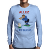 France Rugby Kicker World Cup Mens Long Sleeve T-Shirt