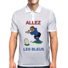 France Rugby Kicker World Cup Mens Polo