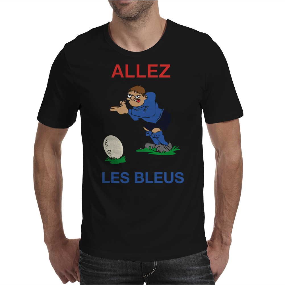 France Rugby Kicker World Cup Mens T-Shirt