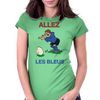 France Rugby Kicker World Cup Womens Fitted T-Shirt