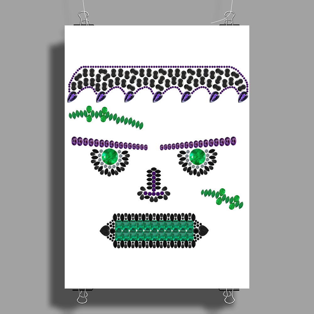 Frank Fright Poster Print (Portrait)