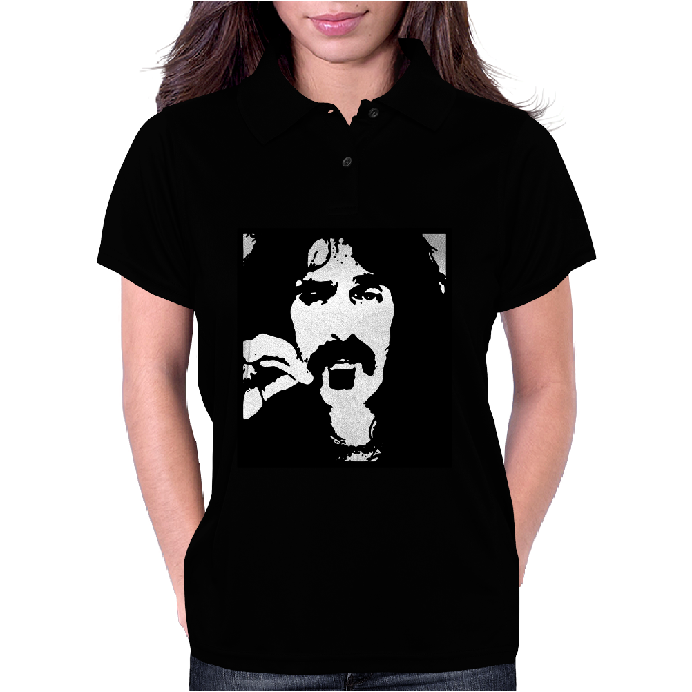 Frank Zappa 2 Womens Polo