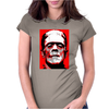 Frankenstein Monster Womens Fitted T-Shirt